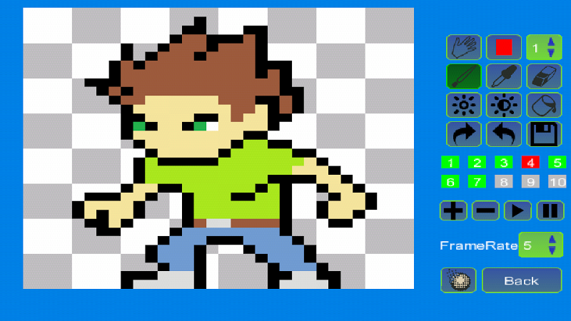 Pixel Animator:GIF Maker Screenshot 2
