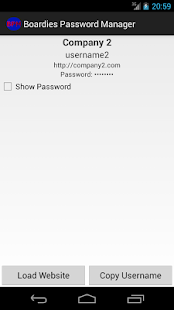 Boardies Password Manager- screenshot thumbnail