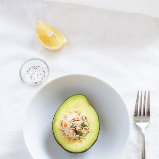 Stuffed Avocado with Skinny Tuna Salad