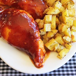 Oven Baked BBQ Chicken.