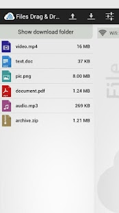 Files Drag & Drop- screenshot thumbnail