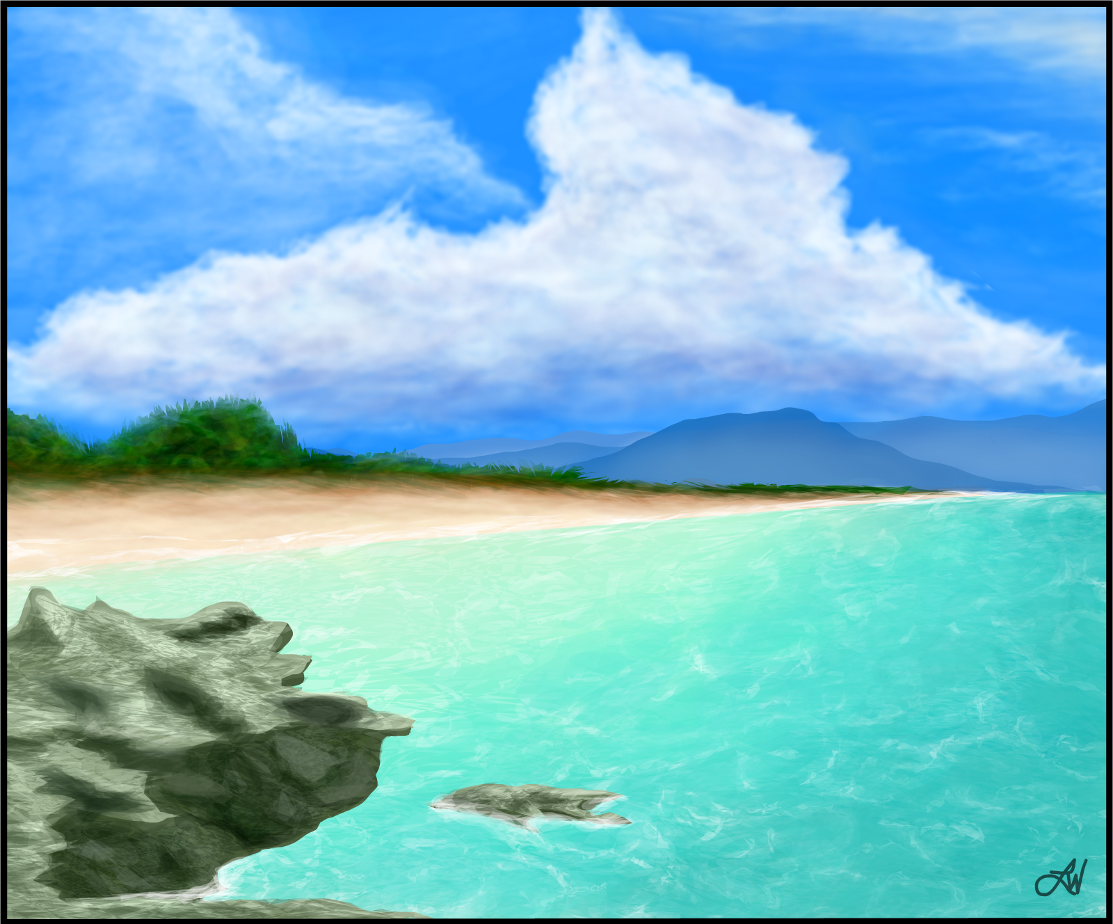 Yet Another Beach Scene