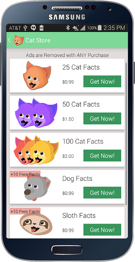 Cat Facts- screenshot