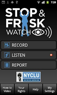 Stop and Frisk Watch- screenshot thumbnail