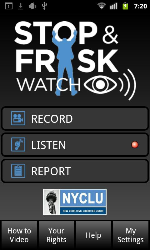 Stop and Frisk Watch- screenshot