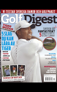 Golf Digest– miniatyr av skärmdump