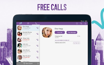 Viber- Free Messages and Calls Screenshot 2