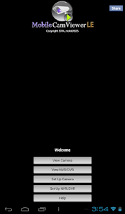 Tablet version MobileCamViewer - screenshot thumbnail