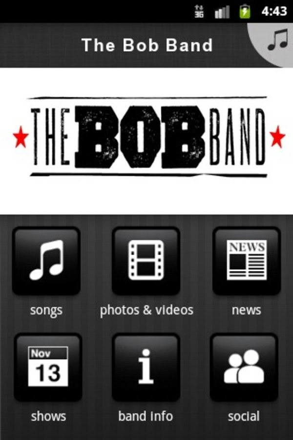 Bob Band - screenshot