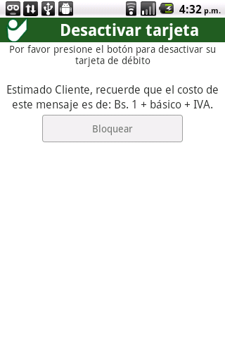 BODMovil - screenshot