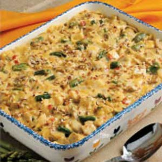 Chicken and Asparagus Bake.