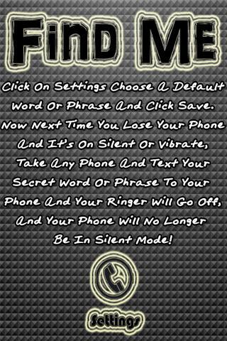 Find Me SMS Phone Finder
