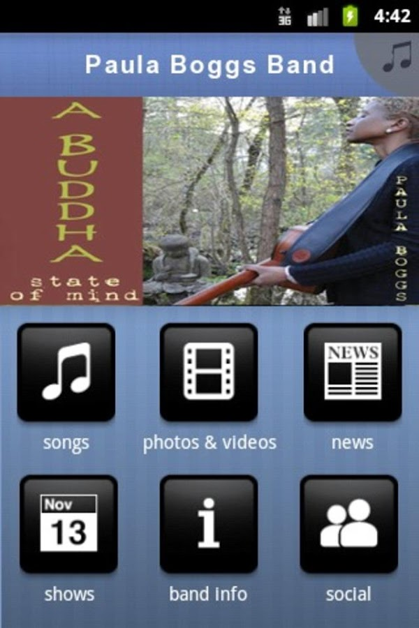 Paula Boggs Band - screenshot