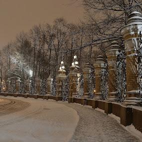by Plamen Stavrev - City,  Street & Park  Night