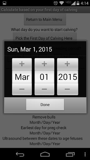 玩免費工具APP|下載Cattle Calendar Calculator app不用錢|硬是要APP
