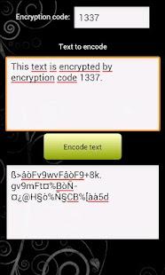 SMS encoder - screenshot thumbnail