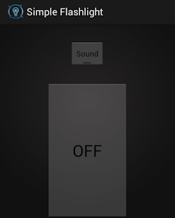 Simple Big Button Flashlight- screenshot thumbnail