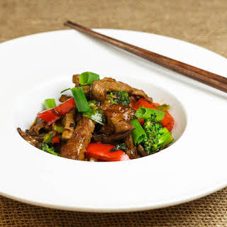 Stir-fried Beef in Oyster Sauce.