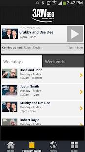 Radio 3AW- screenshot thumbnail