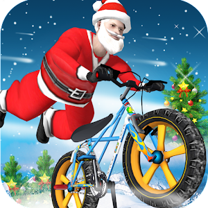 Santa BMX Racing for Android