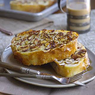 Almond Ciabatta French Toast.