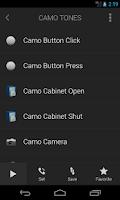 Screenshot of Camo Tones - Secret Ringtones