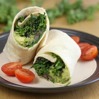 Kale and Avocado Burritos Recipe