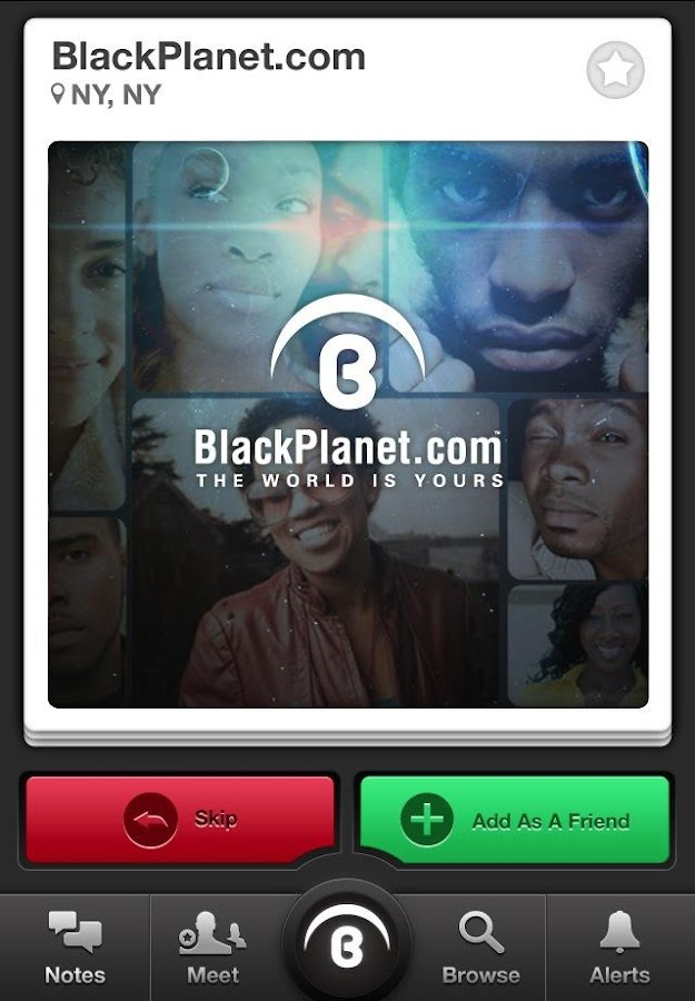 BlackPlanet - Meet New People- screenshot