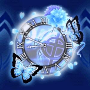 Fantasy Clock★Blue Elegance