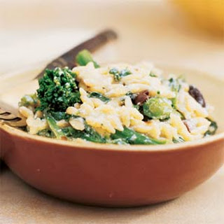 Orzo with Ricotta and Broccoli Rabe