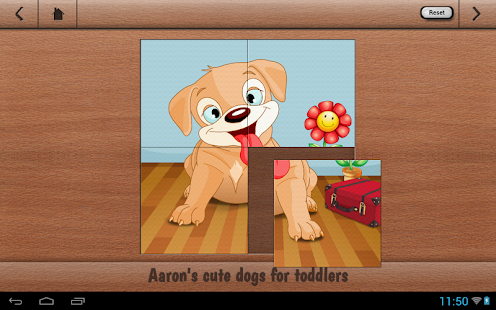 Aarons Kids Cute Puppy Puzzles- screenshot thumbnail