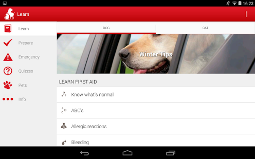 Pet First Aid - Red Cross- screenshot thumbnail
