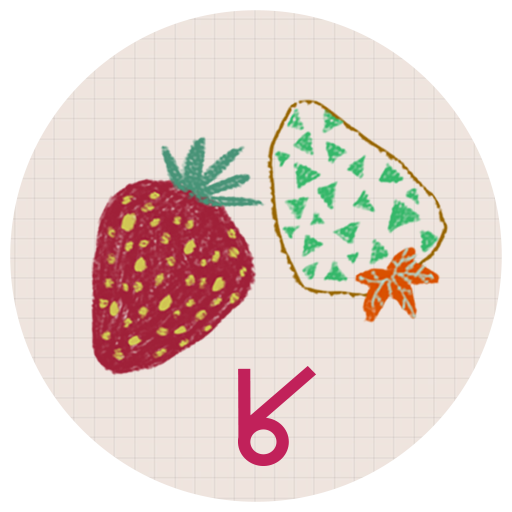 個人化必備App|Sweet strawberry_ATOM theme LOGO-綠色工廠好玩App