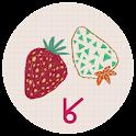 Sweet strawberry_ATOM theme icon