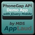 PhoneGap API w/ jQuery Mobile icon