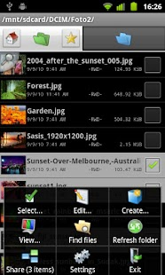 Dual File Manager XT - screenshot thumbnail
