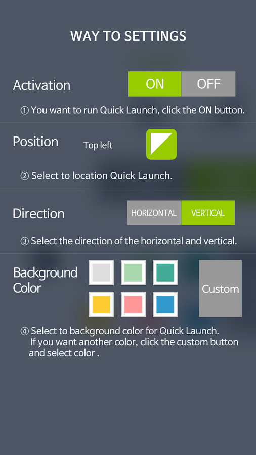 Shortcut-Quick Launch[free]- screenshot