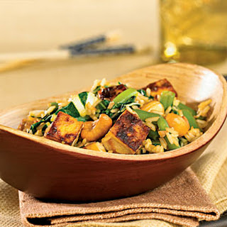 Thai Fried Rice with Tofu