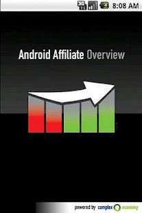 Affiliate Overview Light- screenshot thumbnail