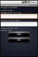 Screenshot of HOC Digital Lifestyle DEMO