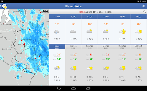 Best weather apps for Android - Phandroid - Android News and Reviews