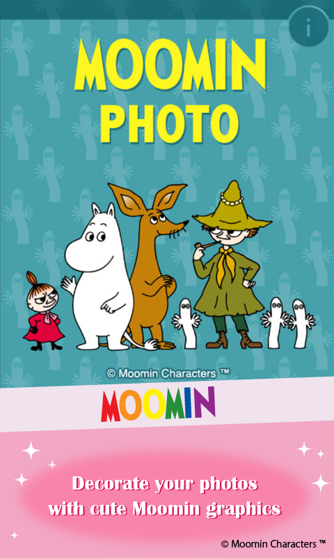 Moomin Photo- screenshot