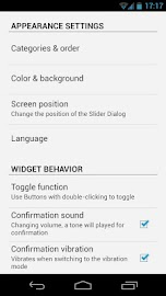 Slider Widget - Volumes Screenshot 5
