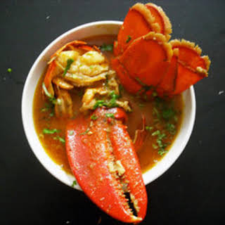 Thai Curries, Part One: Lobster in Yellow Curry Sauce.