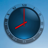 Transparent Analog Clock