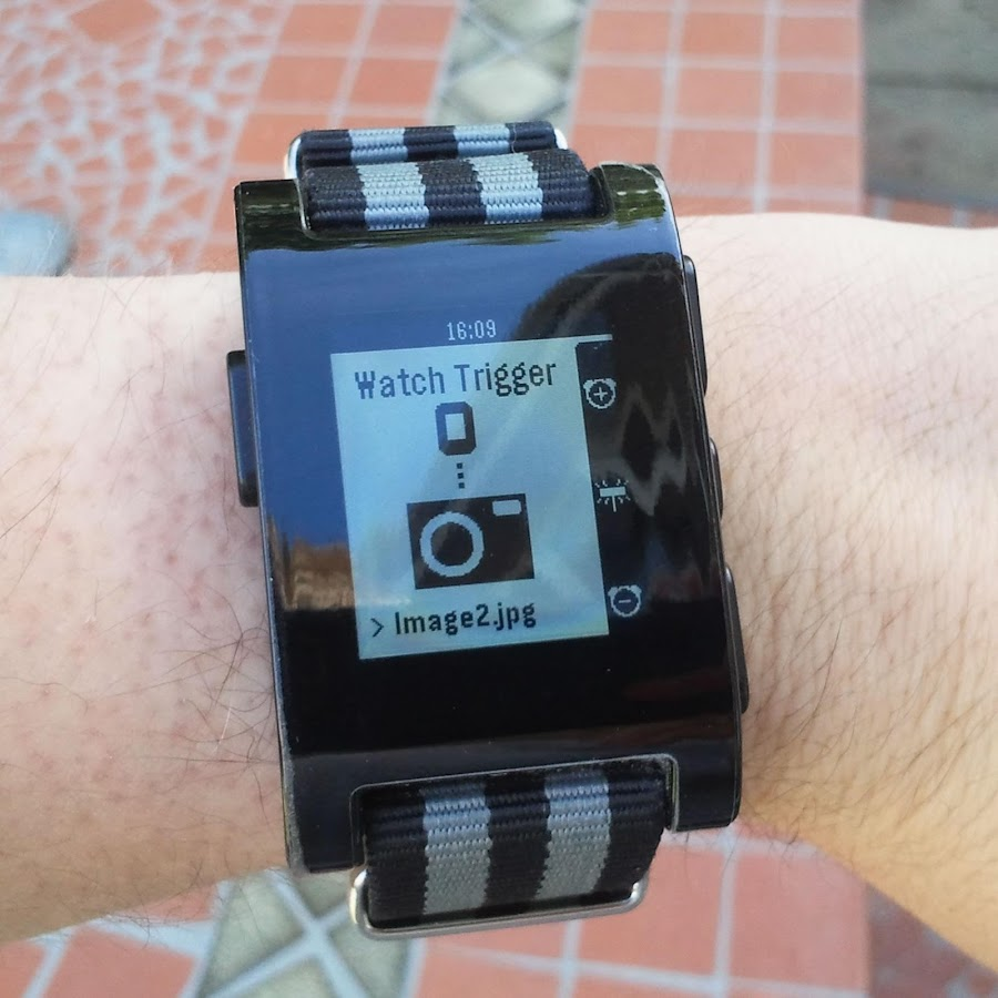 Watch Trigger for Pebble - screenshot