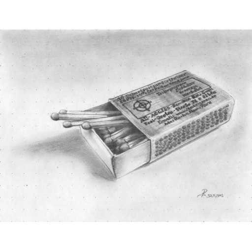 ArtToDraw 0003 Matchbox