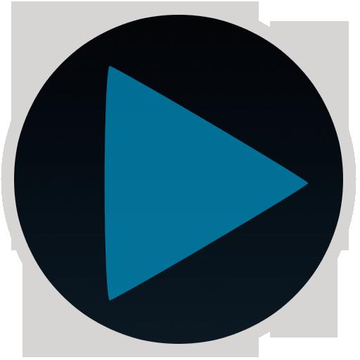 个人化のPoweramp Blue Style LOGO-記事Game