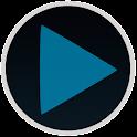 Poweramp Blue Style icon