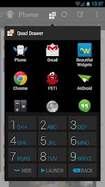 Quad Drawer, quick app drawer Screenshot 8